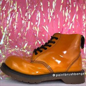 Vintage Dr. Martens Patent Leather Steel Toe Boots
